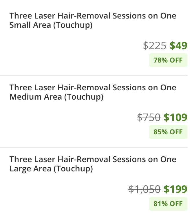 PURE Groupon Offers